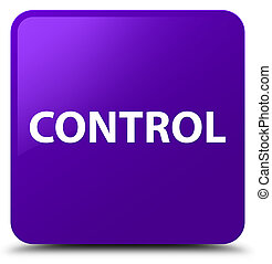 Control purple square button