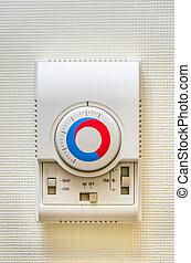 control, remoto, eléctrico, piso, calefacción, wall-mounted