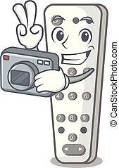 control, remoto, televisión, fotógrafo, dispositivo,...