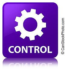 Control (settings icon) purple square button