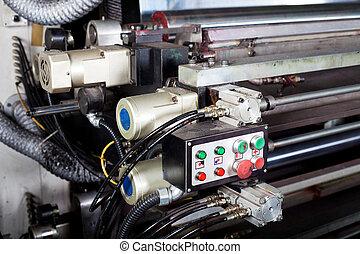 control switch of a modern printing machine