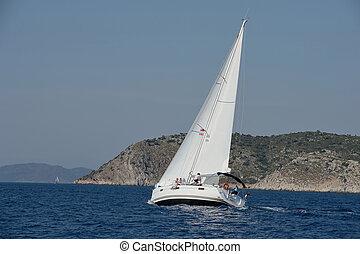 Control Technology sailing yacht
