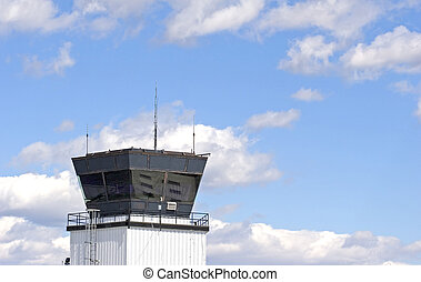 Control Tower in Clouds