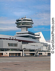 Control tower of the airport