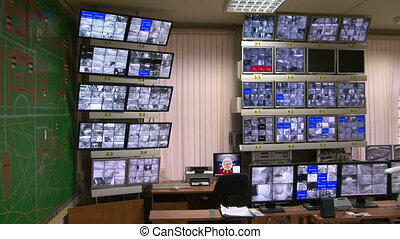 Control video surveillance