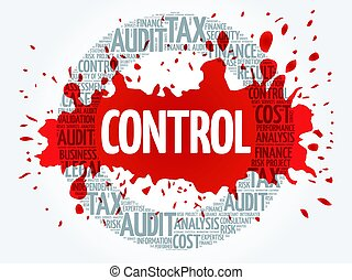 CONTROL word cloud