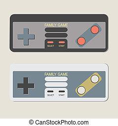 controladores, jogo