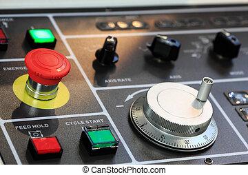 controle, cnc , paneel