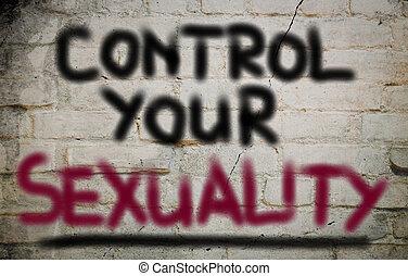 controle, conceito, sexualidade, seu