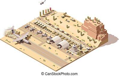 controle, gepanzert, poly, infographic, vliegtuig,...