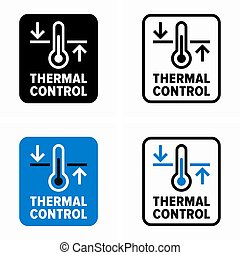 controle, informação, térmico, sinal, sistema