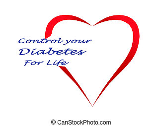 controle, leven, jouw, diabetes