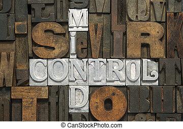 controle, mente