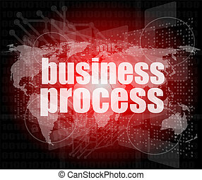 controle, palavra, negócio, processo, missão, tela, olá, digital, interface, tecnologia