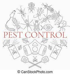 controle peste, linear, jogo