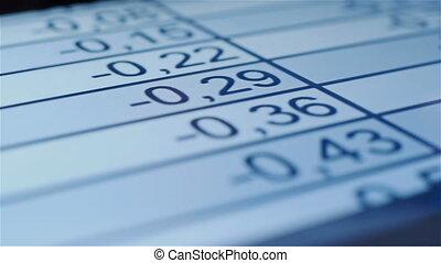 controllo, finanziario, statistico