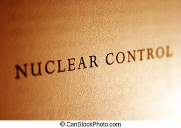 controllo, nucleare