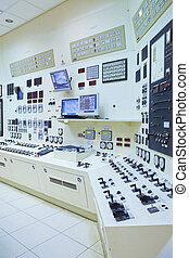 controllo, stazione, stanza, potere