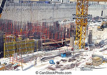 Contruction yard