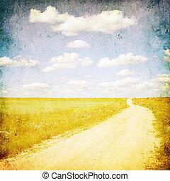 contruside, image, grunge, route