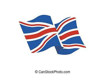 Contry flag illustrtion - illustration of the Union Jack...