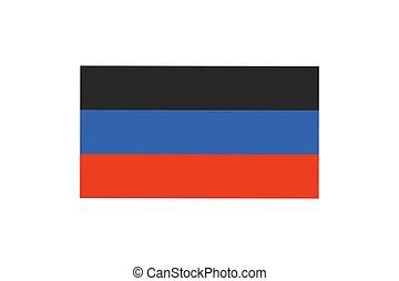 Contry flag illustrtion - Vector illustration of the flag of...