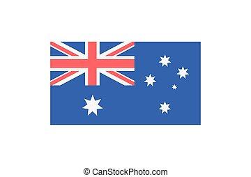 Contry flag illustrtion - Vector illustration of the...