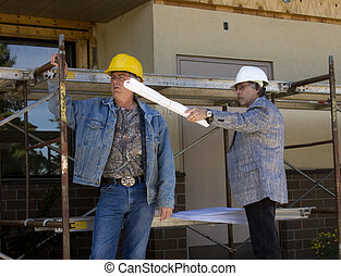 Contstruction workers