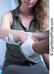 Contusion of hand