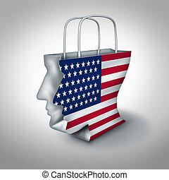 conumer, américain