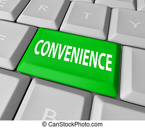 Convenience Computer Keyboard Key Button Fast User Friendly...