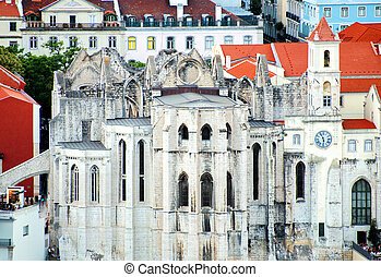 Convent of Our Lady of Mount Carmel in Lisbon.