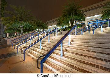 Convention Center Steps