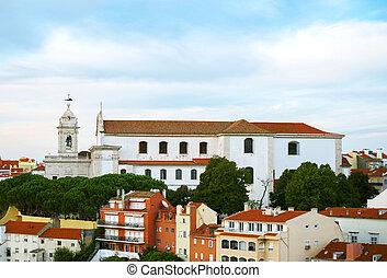 Convento da graca church in Lisbon
