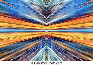 converger, luz, plano de fondo, mancha