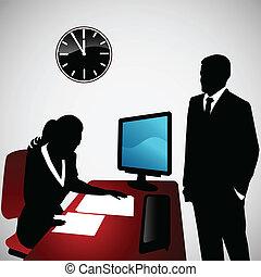 conversación, empresa / negocio