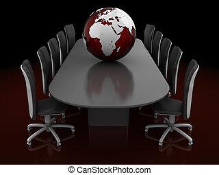 conversación, global
