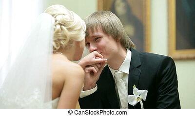 conversation, couple, mariage