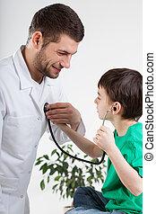 Conversation during medical visit