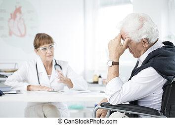 conversation, patient, docteur