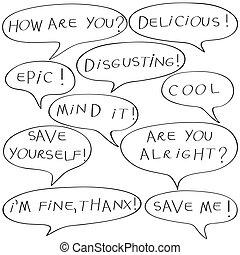 conversation templates