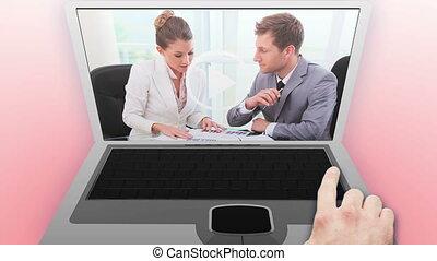 conversation, vidéos, professionnels