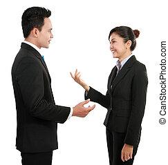 conversazione, affari