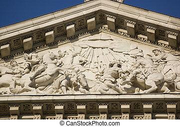 Conversion of Saint Paul sculpture