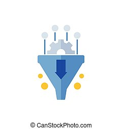 Conversion rate optimization, sales funnel
