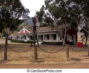 Converted schoolhouse, Isthmus, Catalina Island - It looks...