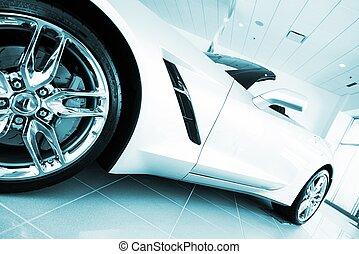 convertible, súper, coche