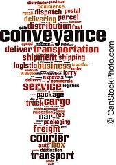 Conveyance word cloud