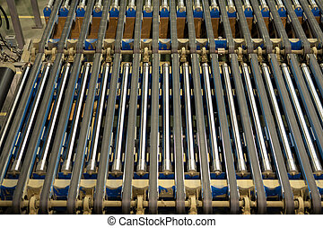 Conveyor belt background