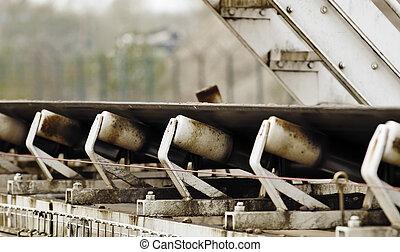 conveyor belt - industrial conveyor rollers